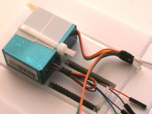 Build a wall mount case for the air quality monitor  
